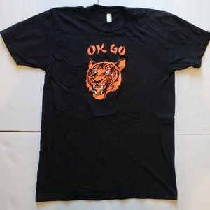OK GO Size Medium Band T-Shirt